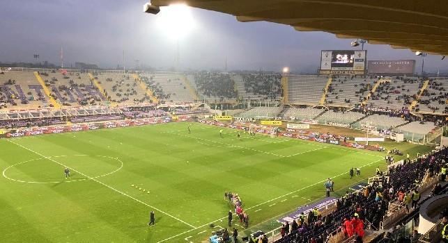 Cori discriminatori in Fiorentina-Napoli