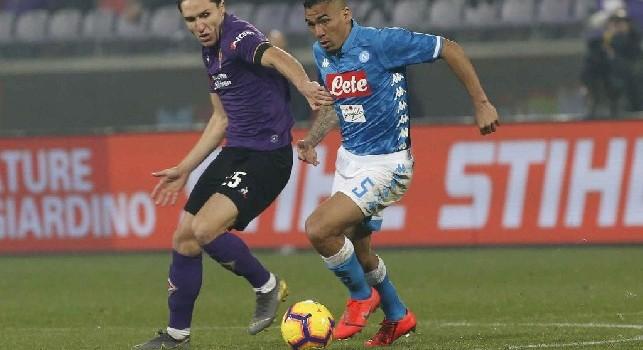 Fiorentina, Chiesa: Contro il Napoli abbiamo fatto una grande prestazione: gli azzurri sono tosti