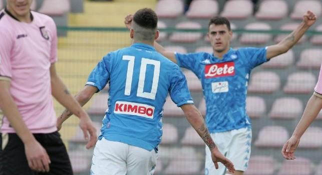 Primavera, le pagelle di Napoli-Palermo 3-2: Zanoli elegante, Sgarbi mattatore. Gaetano, sei tornato! Idasiak, che errore...