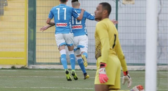 Primavera, il Napoli torna alla vittoria: la Roma cade col Chievo, successo Atalanta [CLASSIFICA]