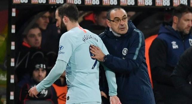 Tuttosport: Higuain tornerà alla Juve: la convivenza con CR7 non sarà un problema grazie a Sarri