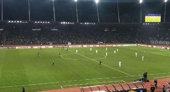RILEGGI LIVE - Zurigo-Napoli 1-3 (Insigne 11', Callejon 21', Zielinski 76', Kololli 82'): azzurri padroni del campo, tante occasioni sprecate