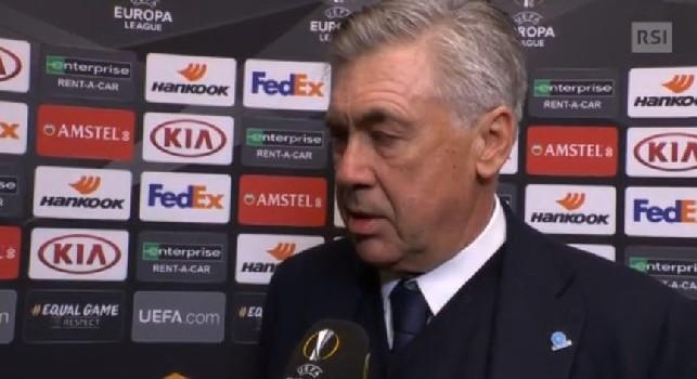 Ancelotti bacchetta l'UEFA: Il pallone dell'Europa League non è all'altezza. Possiamo giocarcela con tutti, ma non sottovalutiamo il ritorno [VIDEO]