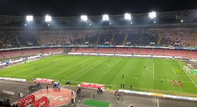 Media spettatori Serie A, il Napoli crolla al 7° posto: la classifica