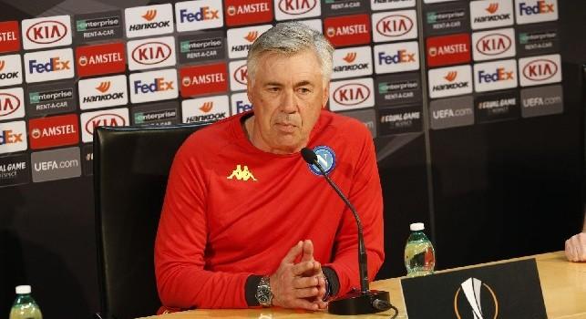 Ancelotti in conferenza stampa