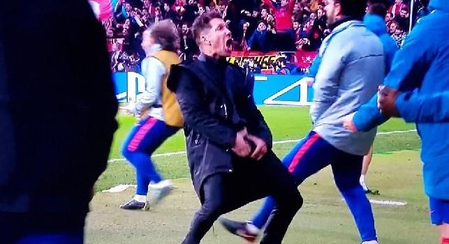Caso Simeone, ora rischia una squalifica per gesto irriguardoso: può saltare il ritorno con la Juventus