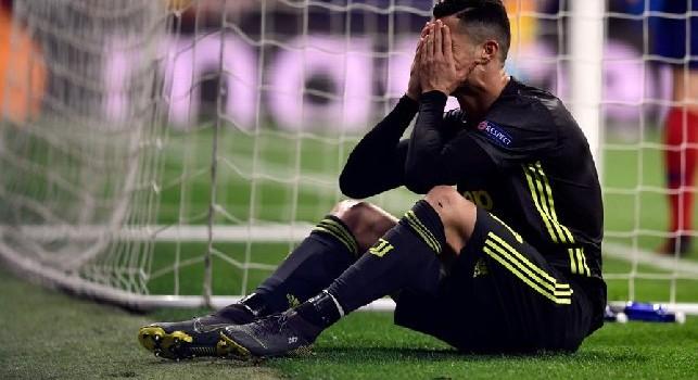 Ronaldo a rischio per Napoli-Juve