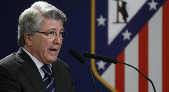 Enrique Cerezo Torres, presidente dell'Atletico Madrid