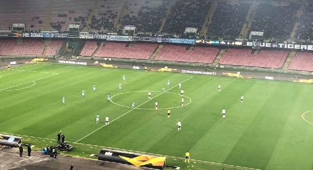 Europa League, diretta Napoli-Zurigo