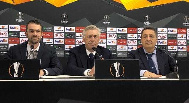 Ancelotti in conferenza: Juve non imbattibile, auguro all'Atletico di vincere la Champions. Benedizione attaccanti? Che San Gennaro ci aiuti! [VIDEO CN24]