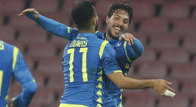 Adam Ounas e Simone Verdi, attaccanti della SSC Napoli