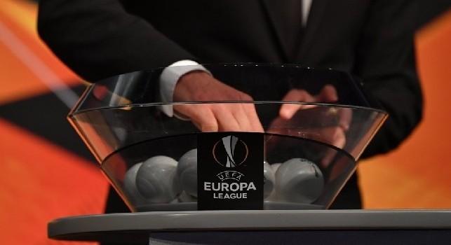 Sorteggi Europa League, la vincente tra Napoli e Arsenal affronterà una tra Villarreal e Valencia