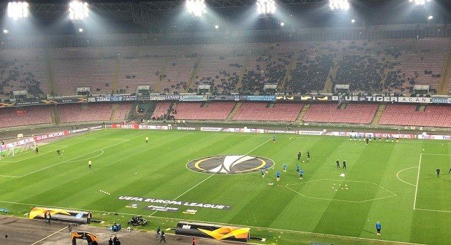 Repubblica - Napoli-Udinese, ritorna San Paolo semi-vuoto: appena 25mila spettatori previsti