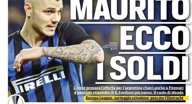 Corriere dello Sport PRIMA PAGINA - 22 febbraio 2019