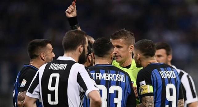Caso Orsato in Inter-Juve, Ravezzani: Il VAR non può intervenire mai per un giallo qualsiasi