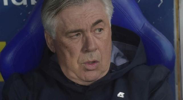 Carlo Ancelotti e il focus sulla formazione degli undici titolarissimi con la SSC Napoli