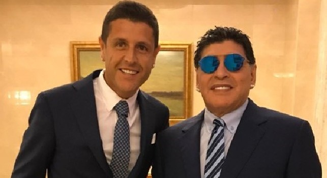 Maradona, l'agente: Champions? Un azzurro ha impressionato Diego, è proprio pazzo di lui