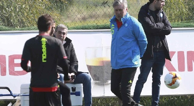 Ancelotti tiene a rapporto tutta la squadra: Negli ultimi tempi abbiamo pareggiato troppe gare: è il momento giusto per ritrovare la vittoria
