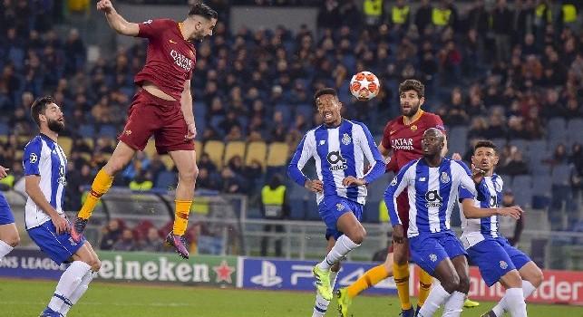 Da Roma: Manolas torna a Trigoria, fisioterapia e palestra per il difensore giallorosso