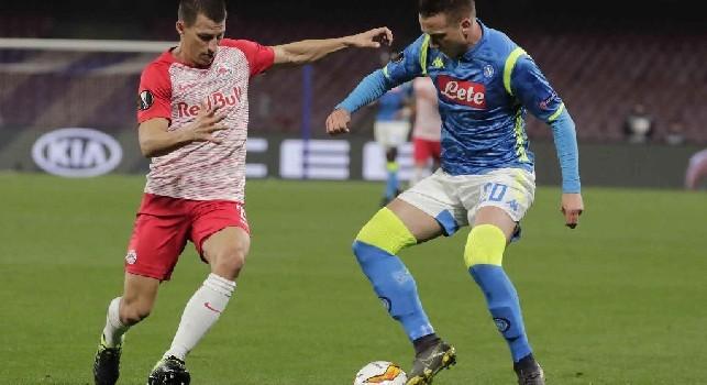 Salisburgo, Lainer: Fieri della nostra prestazione contro il Napoli, vittoria meritata! Possiamo competere con top team di questo tipo