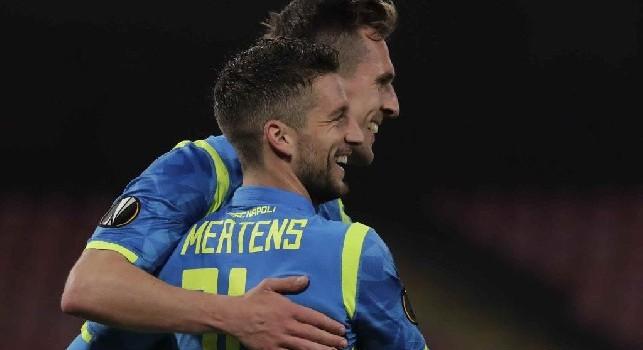 Napoli subito in vantaggio: Milik in semi rovesciata sigla il gol del vantaggio