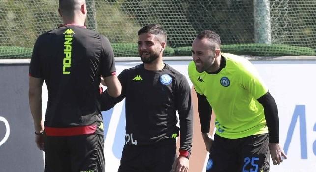 SSC Napoli, allenamento in corso per David Ospina [VIDEO]