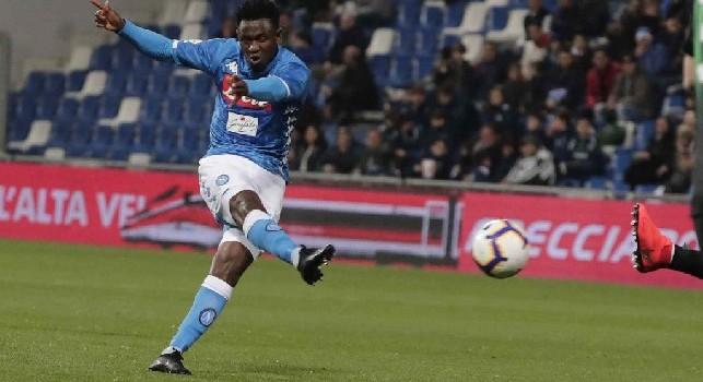 Amadou Diawara, centrocampista della SSC Napoli