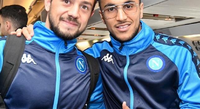 Tweet SSC Napoli: Si parte per Salisburgo! [FOTO]