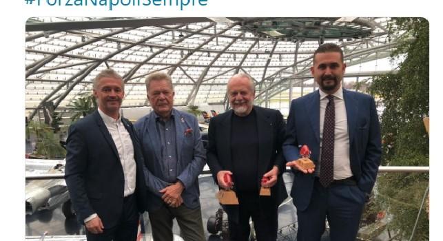 Pranzo Uefa, la SSC Napoli: Grazie agli amici del Salisburgo, spunta il regalo targato Red Bull [FOTO]