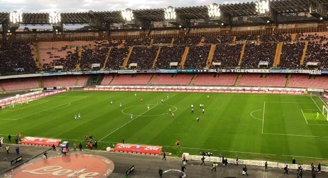 Napoli-Atalanta, record negativo di presenze? CorSport: L'entusiasmo è sfumato, le festività fanno il resto: il pubblico ha deciso di fare altro