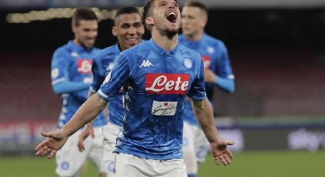Il Roma - Mertens-Napoli, la clausola di 28 mln scatta solo ad una condizione. Sarà De Laurentiis a decidere del futuro del belga