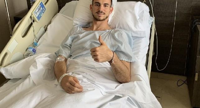 Fabian Ruiz in ospedale