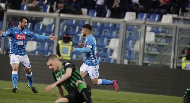 Insigne è il giocatore italiano con il valore di cartellino più alto, quarto in tutta la Serie A