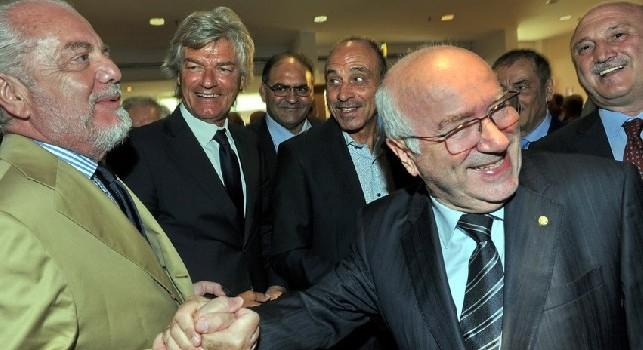 Tavecchio: Meret è una certezza, senza gli infortuni sarebbe più avanti. Stadi italiani dietro al Gabon? Sbagliate le parole di Infantino