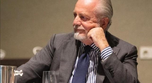 SSC Napoli: Marketing e comunicazione, De Laurentiis coordina i lavori per l'ECA ad Amsterdam