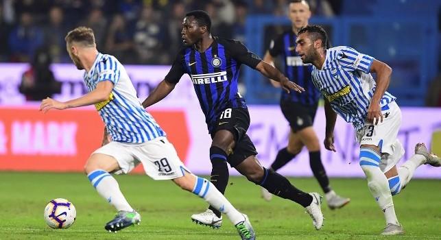 Inter, Asamoah: Faremo la nostra partita a Napoli ma non sarà semplice. C'è da lavorare tanto