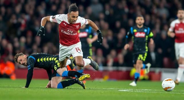 Arsenal-Napoli, le pagelle: Zielinski e Mertens assenti, Meret evita l'imbarcata! Fabián pressato, Hysaj e Mario Rui crollano