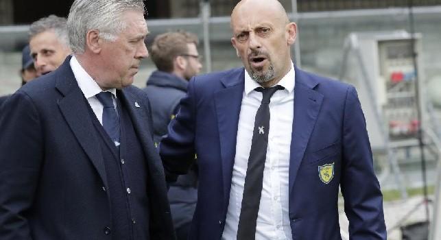 Di Carlo: Mi è piaciuto il coraggio messo in campo dal Napoli contro il Liverpool. Sul Lecce...