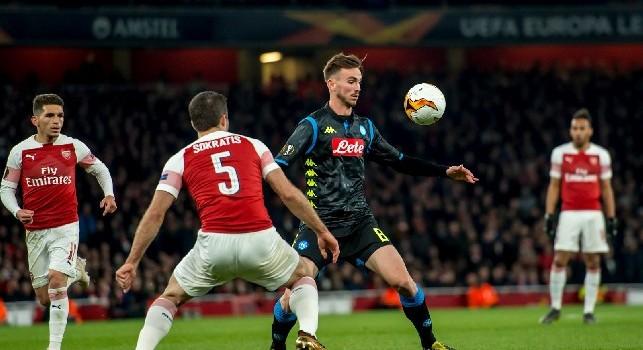 Sky, Gentile: Un aspetto può essere determinate per l'Arsenal, non è in grado di giocare in maniera attendista. Speriamo che si trasformi in negativo...