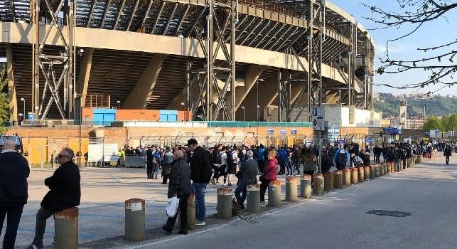 Biglietti Napoli-Inter in vendita: Curve ancora a 30 euro! Prezzi e info