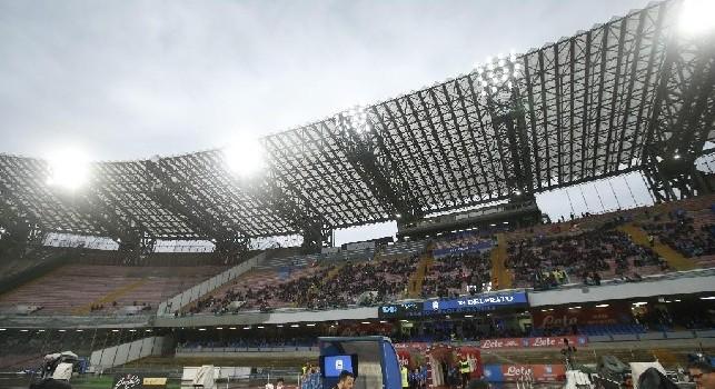 Napoli-Inter, il San Paolo si conferma <i>freddo</i>: previsti solo 35mila spettatori