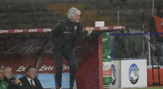 Atalanta, Gasperini: Vittoria di Napoli ci mette in corsa per la Champions, ora vogliamo la finale di Coppa Italia