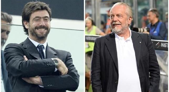 Andrea Agnelli e Aurelio De Laurentiis
