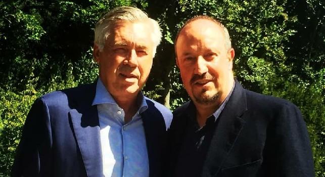 Carlo Ancelotti e Rafa Benitez
