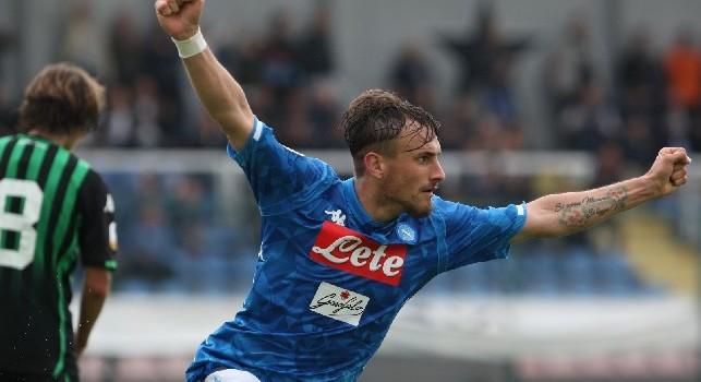 Claudio Manzi, difensore della SSC Napoli