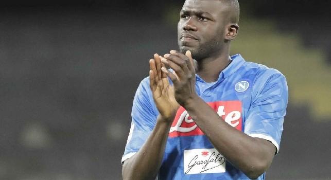 Kalidou Koulibaly, difensore centrale del Napoli