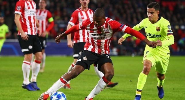 Dumfries-Napoli, il terzino inserito nella top 11 stagionale della Eredivisie