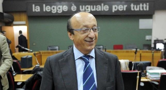 Moggi: Al Thani-Napoli, sono solo voci. De Laurentiis se lo tiene stretto il suo club...