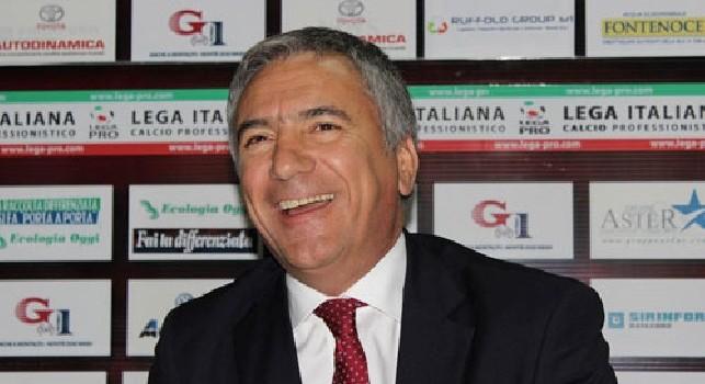 Mauro Meluso, DS del Lecce