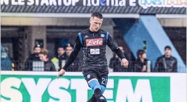 Zielinski esulta sui social: Vittoria fuori casa, i tre punti tornano a Napoli! [FOTO]